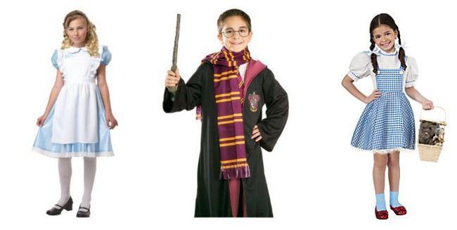 Alice, Harry, Dorothy - Halloween Costumes From Children's Literature