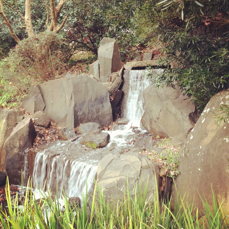 The tranquil Japanese Gardens at USQ Toowoomba provide a retreat for staff and students.