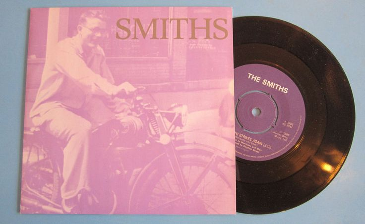 "THE SMITHS Bigmouth Strikes Again 1986 UK ORIG ROUGH TRADE RECORDS 7"" VINYL"