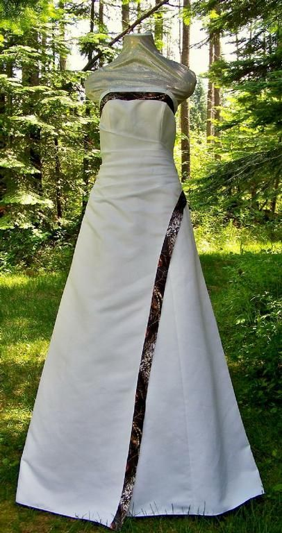 Camo Wedding Dresses And Tux