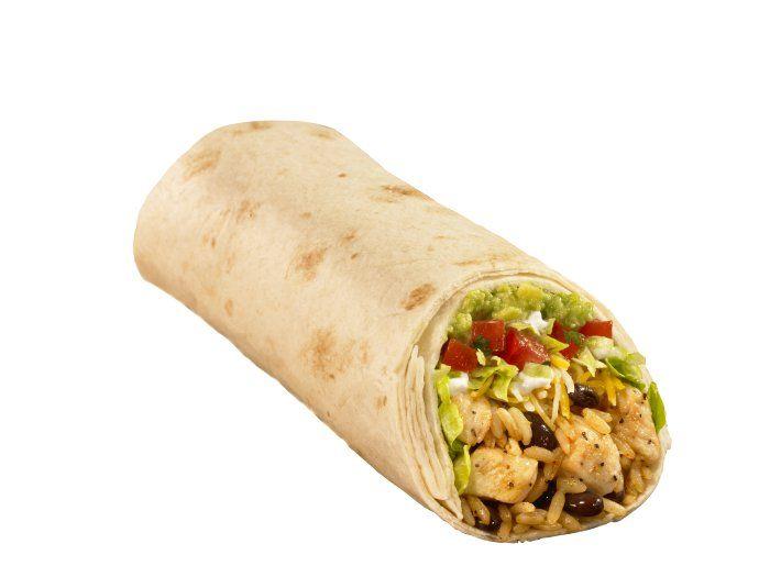 No México temos o burrito, que é uma tortilha enrolada, geralmente recheada com carne, mas que pode ser feito também com camarão ou bacalhau. O recheio mais tradicional é com queijo, coentro, alho e abacate.