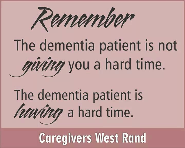 Dementia - so very sad to watch someone suffer with it, heartbreaking