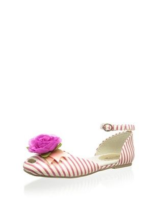 36% OFF Joyfolie Kid's Pin Stripe with Flower detail (Pink)