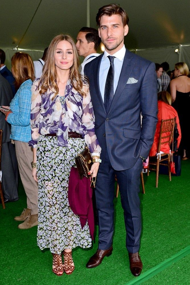 Olivia Palermo and Johannes Huebl at the Sentabale Charity Polo Match l May, 2013