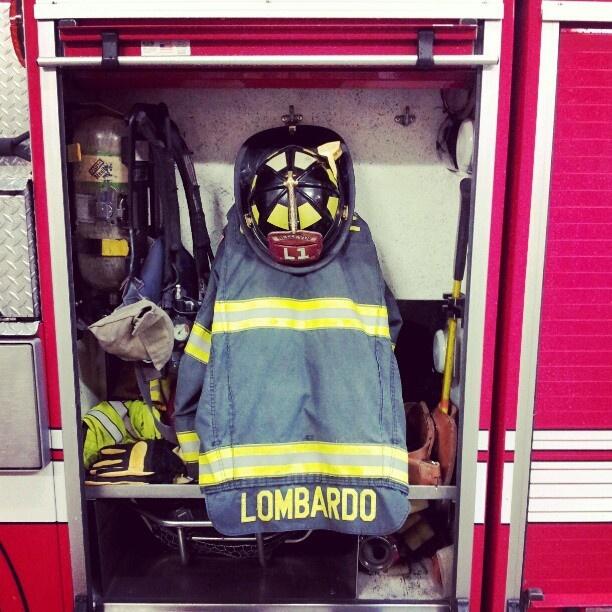 Bellevue, Washington firefighter can sing love songs. Meet Lombardo