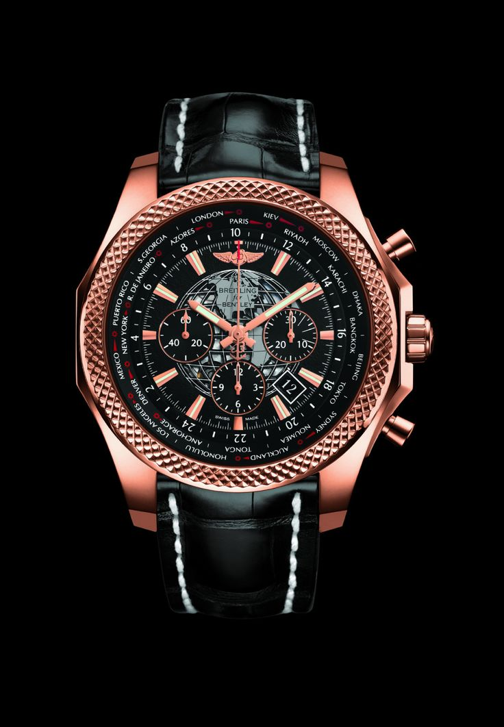 Discover the new Bentley B05 Unitime watch by Breitling on www.presentwatch.com