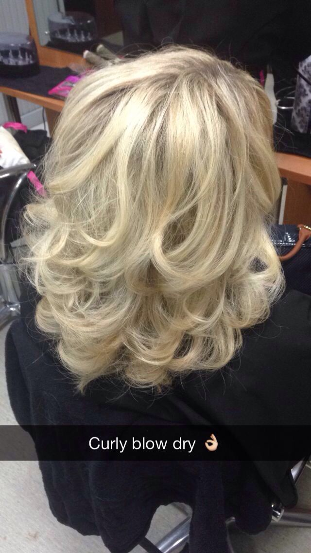 Curly Blow Dry  Hair are the Possibilities  Blow dry hair curls Hair upstyles Blow dry