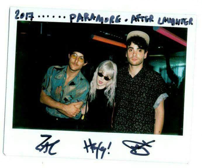 Zac Farro Taylor York Hayley williams Paramore BBC Radio 1 live lounge