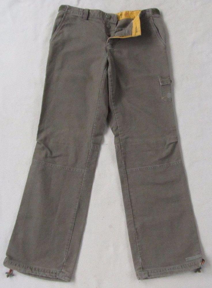 100% Cotton Boot Cut Surplus Khaki Pants