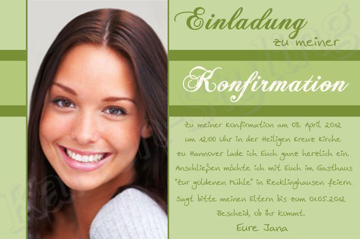 Einladungskarten Online : Einladungskarten Jugendweihe   Online  Einladungskarten   Online Einladungskarten