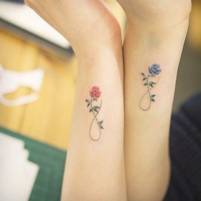 1001 Ideas De Tatuajes De Flores En Diferentes Estilos Tatuajes Femeninos En La Muneca Tatuajes De Hijas Tatuajes Pequenos Mujer