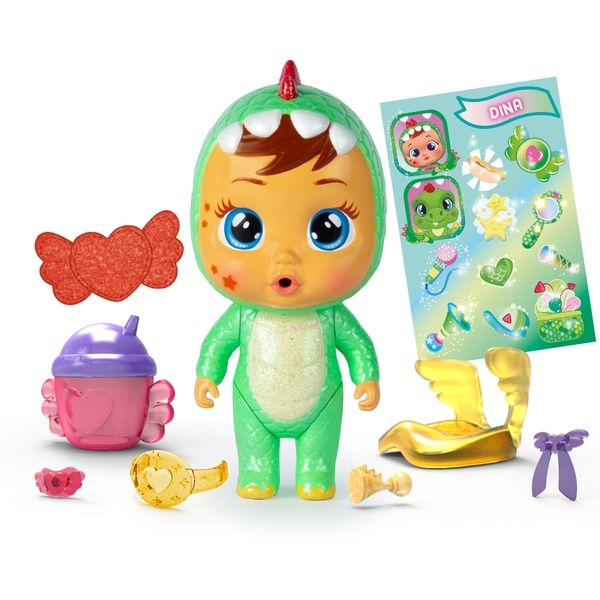 Cry Babies Magic Tears Paci House Cry Babies Smyths Toys Uk In 2020 Baby Magic Interactive Baby Dolls Cry Baby
