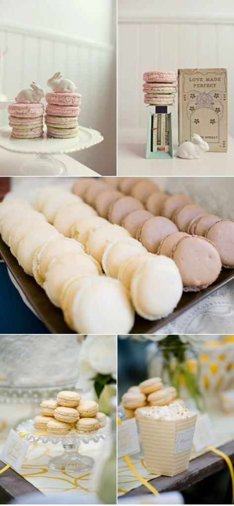 Macarons Recipe French French Style Macaroon Recipe