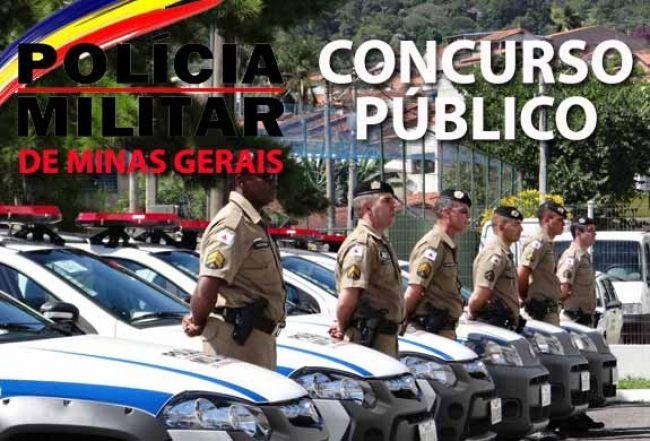 Policia Militar abre inscrição para o concurso público de Minas Gerais