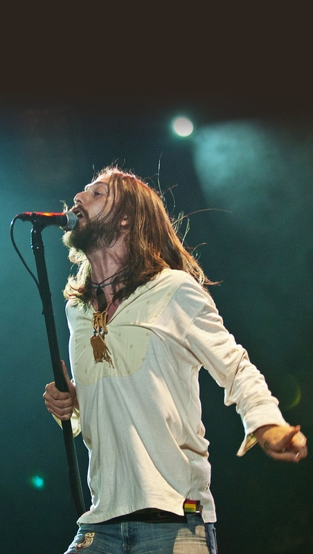 Chris Robinson - frontman for bluesy hard rockers, the Black Crowes.