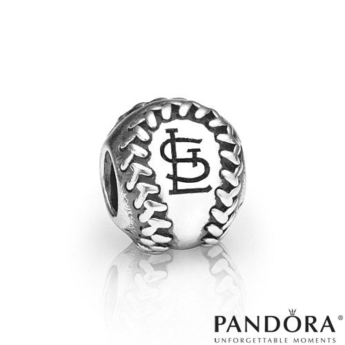 St. Louis Cardinals MLB Baseball Charm by PANDORA® Jewelry - MLB.com Shop