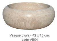 Vasques en travertins ou marbres - multiples finitions et coloris disponibles - Artemis grossiste en pierres naturelles Bouches du Rhône