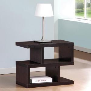 Bookshelf table nightstand