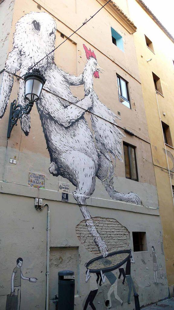 Street Artists: Escif + Ericailcane