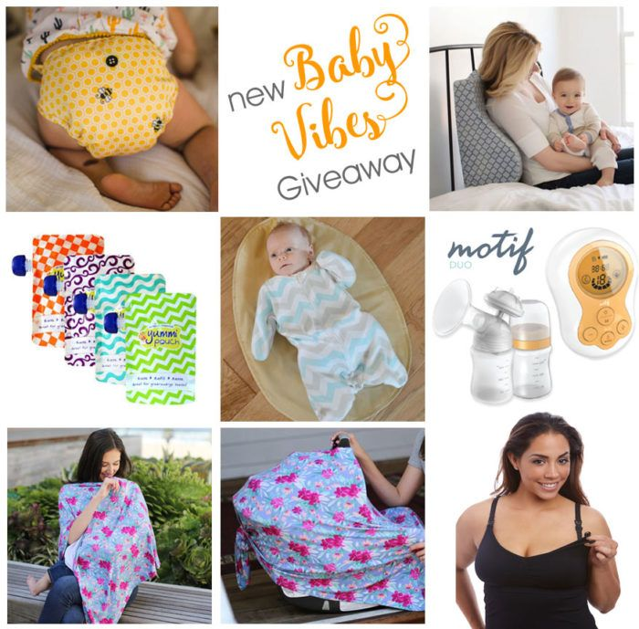 New Baby Giveaway – Buttons Cloth Diapers & Much More