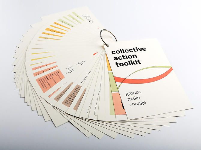 Collective Action Toolkit by Frog Design