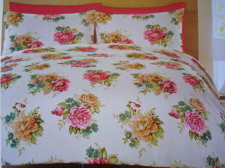 Cath Lansfiled Mia Multi Colour 200 Thread Count Cotton Rich Percale Double Bed in Home, Furniture & DIY, Bedding, Bed Linens & Sets | eBay #bed #bedding #duvet #CatherineLansfield #folky #boho #bohemian #roses #print #floral #flowers #colour #bright #chic #simple #elegant #vintage #retro #vintagestyle #stylish #thatsdarling #bedroom #style #decor #modern #cosy #relax #relaxing #doubleduvet #home #linen #homedecor #homestyle #interior #design #HarvardMills #LordOfTheLinens