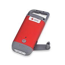 image of American Red Cross Clipray Crank Flashlight
