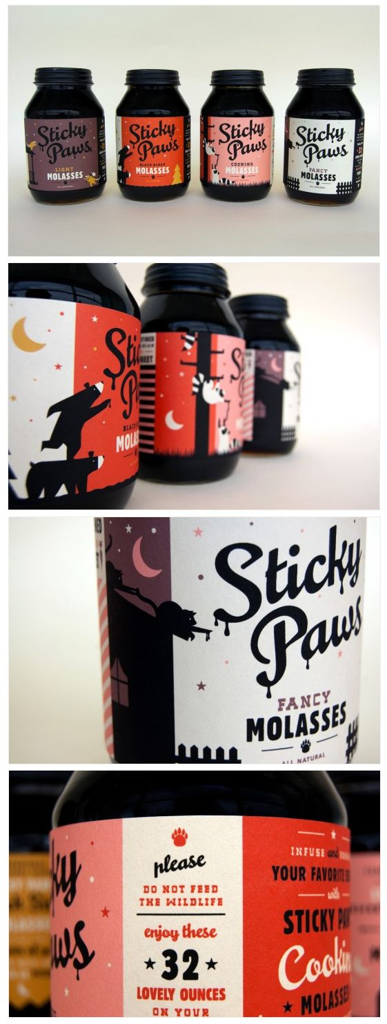 Sticky Paws Molasses by Caleb Heisey Design _ skychelle finds.