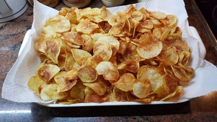 Ropogós házi chips