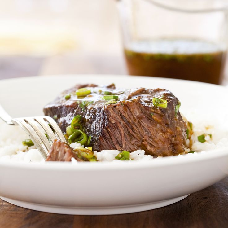 Pressure-Cooker Asian-Style Boneless Beef Short Ribs