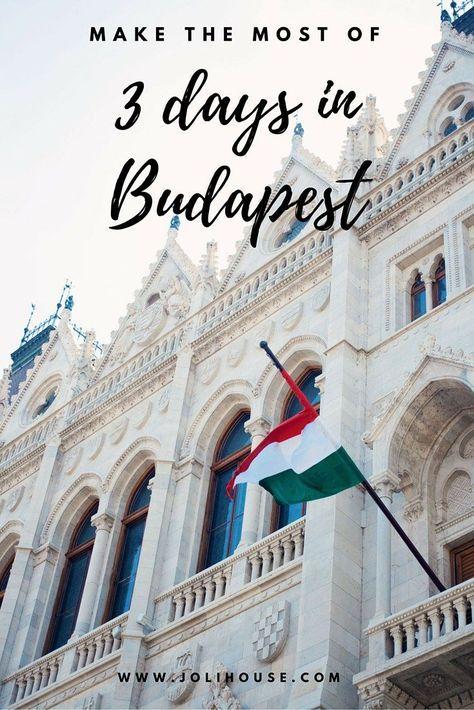 Co zobaczyć wciagu 3 dni w Budapeszcie | www.shakeit.pl