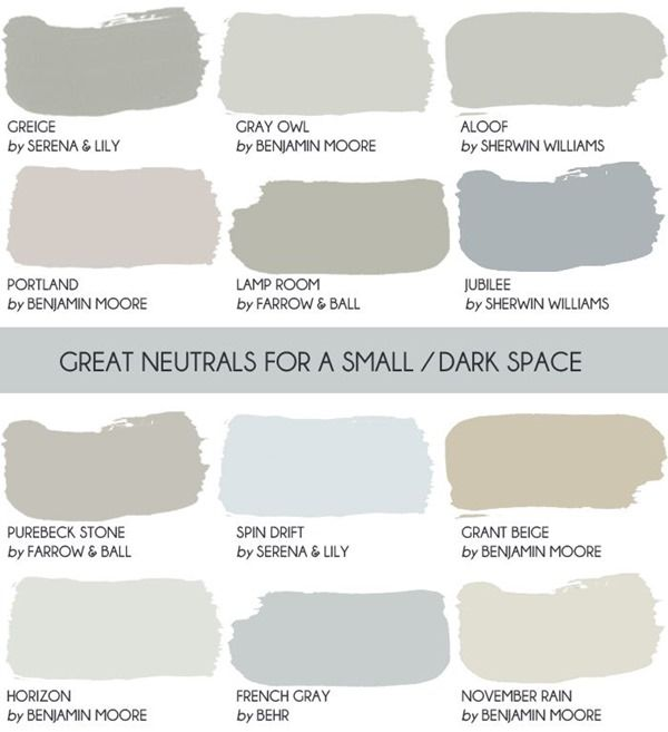 The Saturday 6 Neutral Paint ColorsNeutral