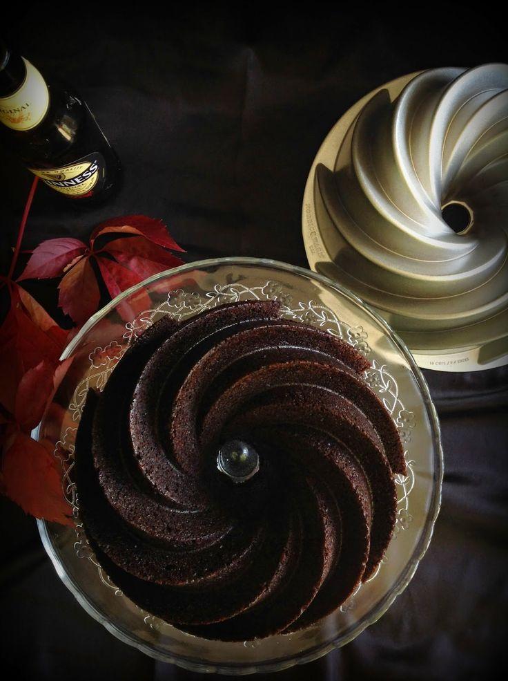 Guinness chocolate bundt cake (English recipe)