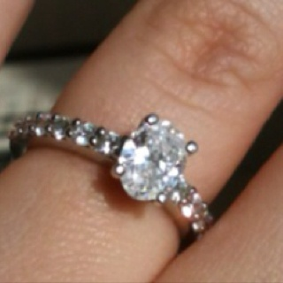 My incredibly stunning engagement ring.