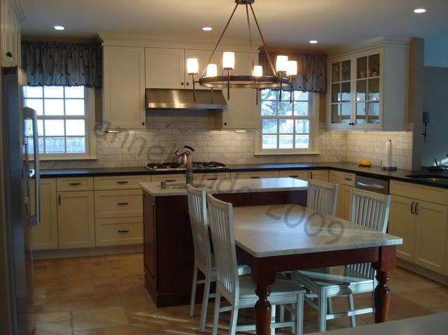 Kitchen Island And Table