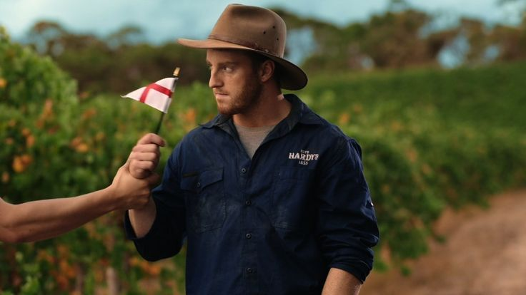 """Read more: https://www.luerzersarchive.com/en/magazine/commercial-detail/hardys-wine-60929.html Hardys Wine Hardys """"Flag Hand""""# A series of short spots in which it's obvious that the Aussie actors featured are less than enamored by the fact that Australian winemakers Hardys are 'proud' sponsors of the England cricket team, their arch-enemy. Reactions range from evident reluctance to outright disgust. Tags: Jamie Buckingham,Dave Woodall,McCann Central,Plaza Films, Surry Hills,Vince…"""