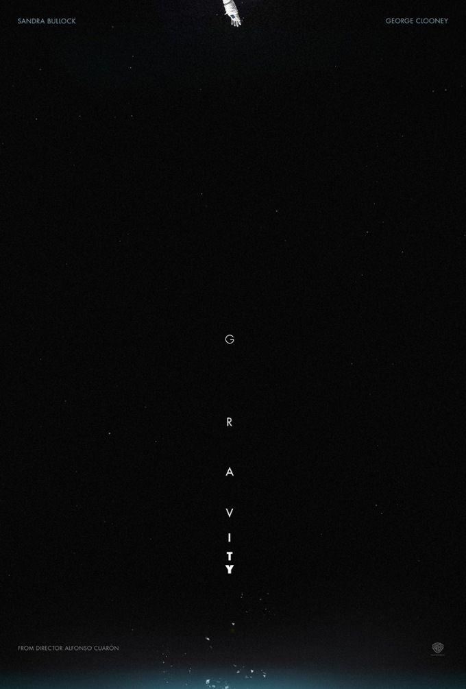 超有感覺的地心引力 字體海報設計 | MyDesy 淘靈感