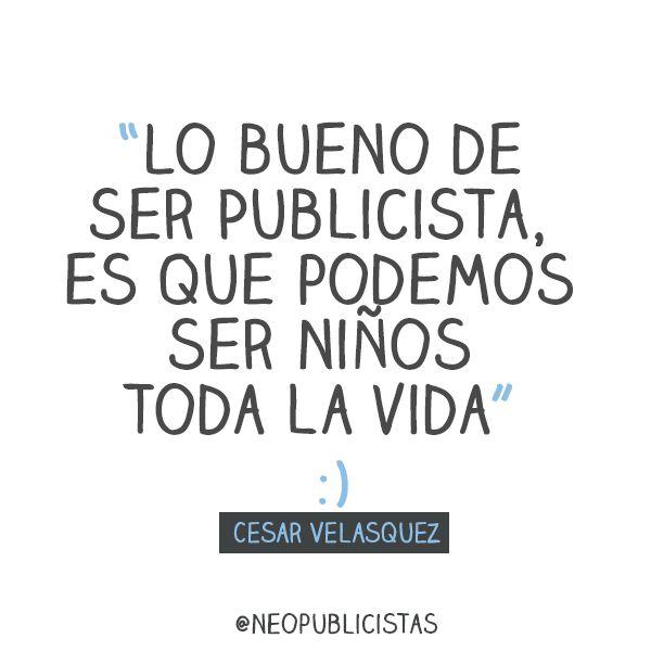#publicidad #creatividad #felicidad #trabajo #inspiración