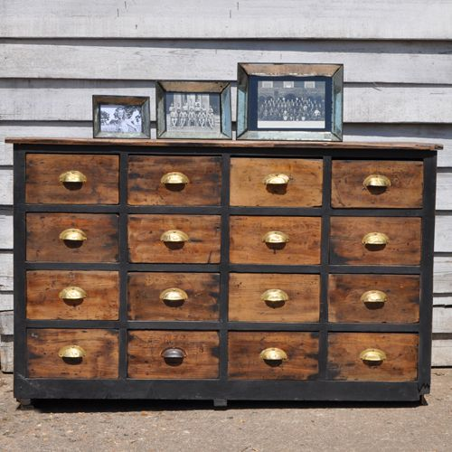 Vintage Apothecary Drawers - Industrial Style
