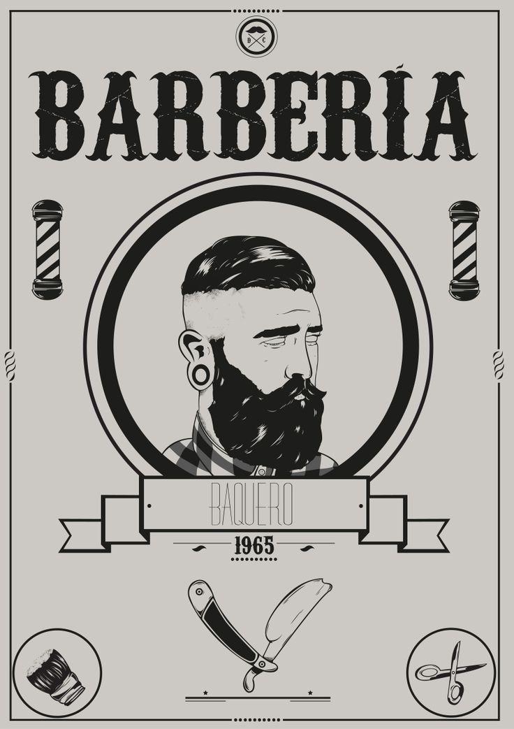 Illustration for baquero barbershop