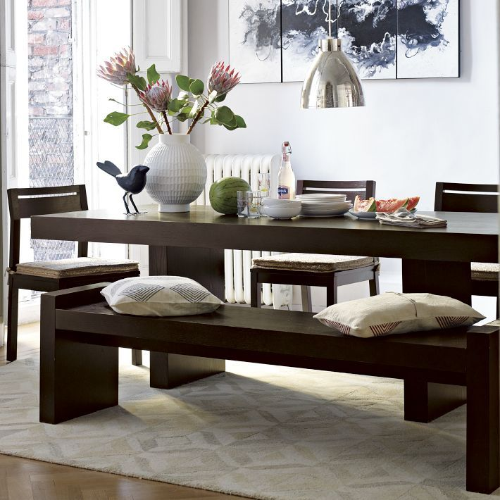 west elm terra dining table bench dining rooms dining room tables