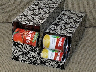 A Can Organizer With A Playful Exterior.