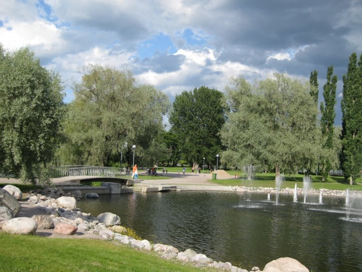 Pikku-Vesijärven vesiurut, Lahti, Finland