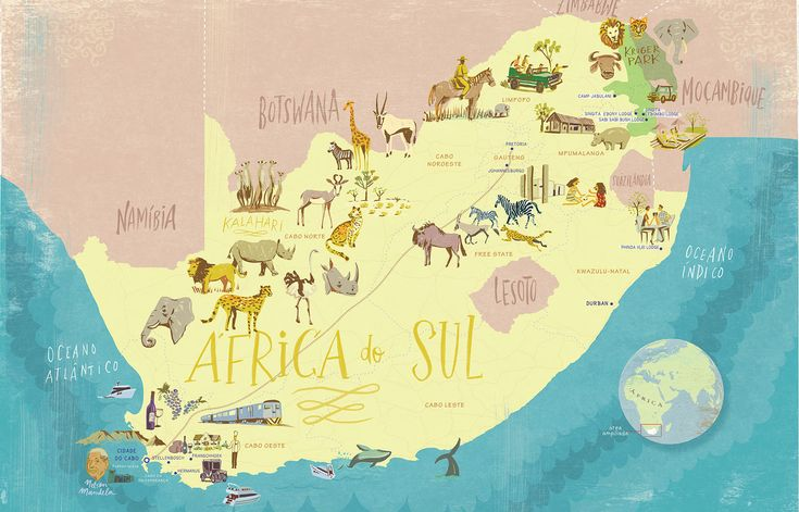 South Africa map, Selections, 2013 | Nik Neves