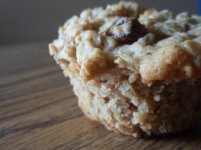 oatmeal raisin cookie cupcakes | dessert recipes | Pinterest