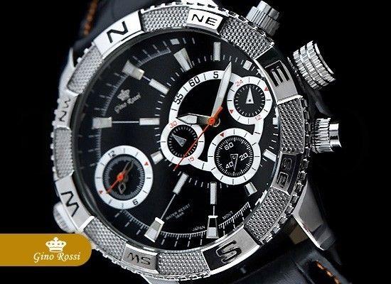 Pánské hodinky - Gino Rossi, Bunt, černé