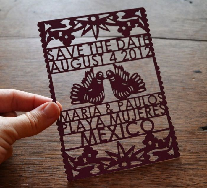 152 best eco friendly wedding invitations images on pinterest this save the date is great for any couple that wants a unique invitation these solutioingenieria Gallery