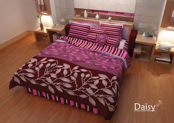 Daisy Bed Cover