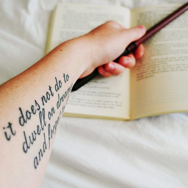 These Harry Potter Tattoos Would Make J.K. Rowling Proud: It's not usually a great idea to get a tattoo for your significant other.