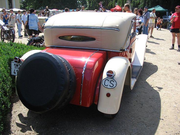 Sodomka Tatra 52 Cabriolet
